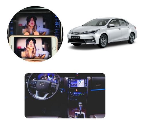 Imagem 1 de 10 de Toyota Corolla 2015-2019 Desbloqueio Dvd +tv +espelhamento