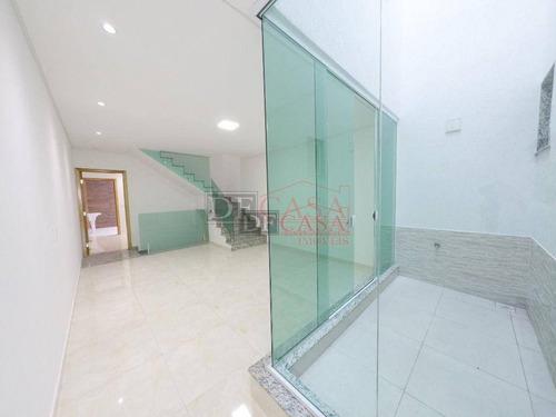 Sobrado Com 3 Dormitórios À Venda, 200 M² Por R$ 890.000,00 - Vila Salete - São Paulo/sp - So3886