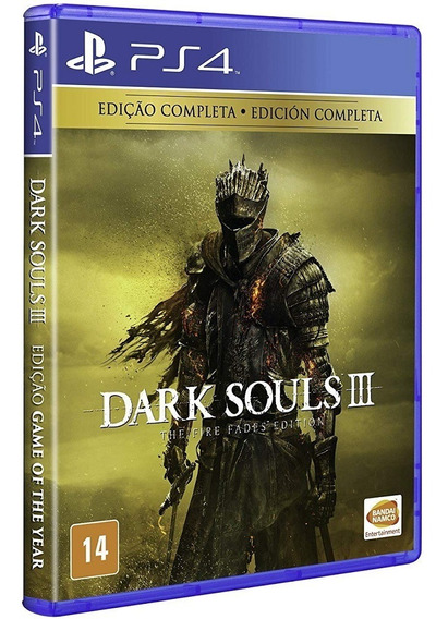 Dark Souls 3 Complete Edition Ps4 Mídia Física Novo Original