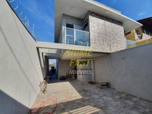 Imagem 1 de 30 de Sobrado Novo Com 3 Dormitórios, 126 M² - Venda Por R$ 820.000 Ou Aluguel Por R$ 3.000/mês - Jardim Santa Mena - Guarulhos/sp - So0955