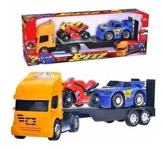 Brinquedo Caminhão Cegonha Coleção Speed - Usual Plastic