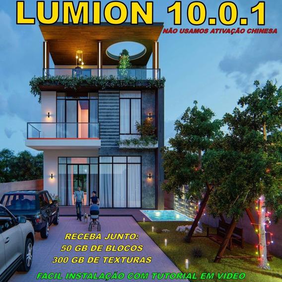 Lumion 10.0.1 +300 Gb Texturas + 50 Gb Blocos - Receba Hoje!