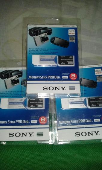 Se Venden Memoria Stick Pro Duo Marca Sony Original Nuevos