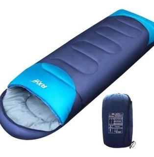 Bolsa De Dormir 0° C Con Capucha Y Funda P Trekking Camping