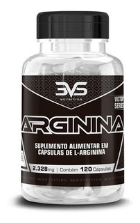 Arginina 2000 Mg 3vs 120 Caps