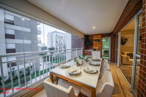 Apartamento  Family Garden 127m² 3 Suítes 2 Vagas Varanda Gourmet - Chácara Inglesa - Sbc - Ap2617 - 34528263