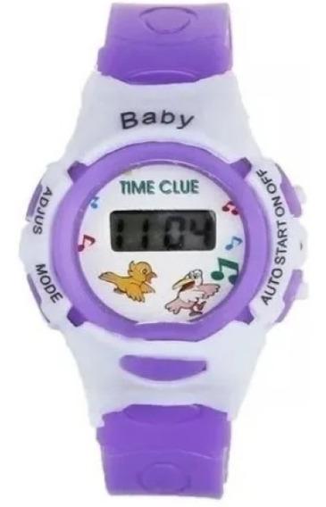 Relógio Infantil Bebe Digital Crianças Kids