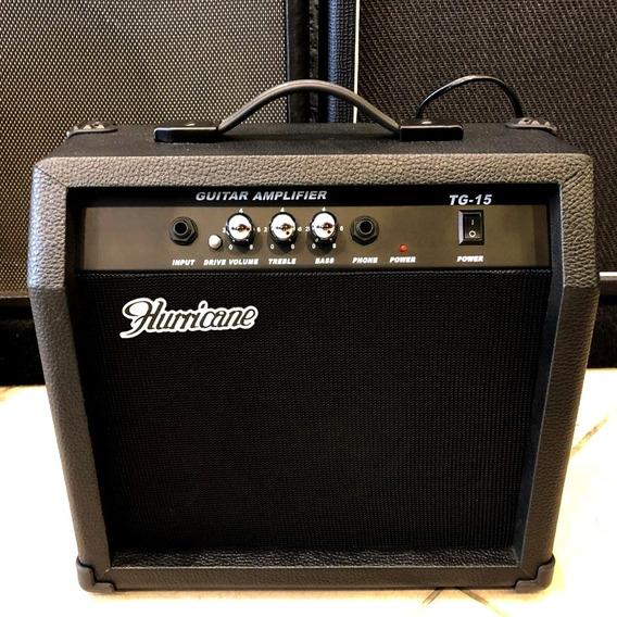 Combo Para Guitarra Hurricane Tg15 15w + Nf