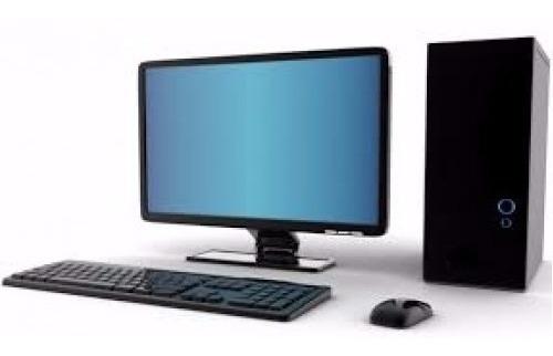 Aproveite Pc Completo Core I5 8gb+hd 1tb +tela 19+pl.rede