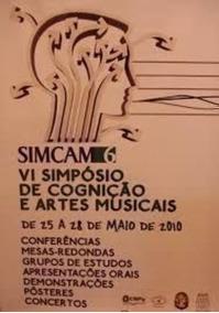 Simcam 6 Vi Simpósio De Cognição E Artes Musicais