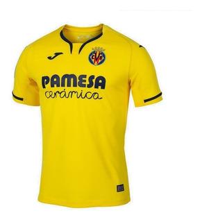 Camisa Villarreal 19/20 Unif. 1 - Pronta Entrega
