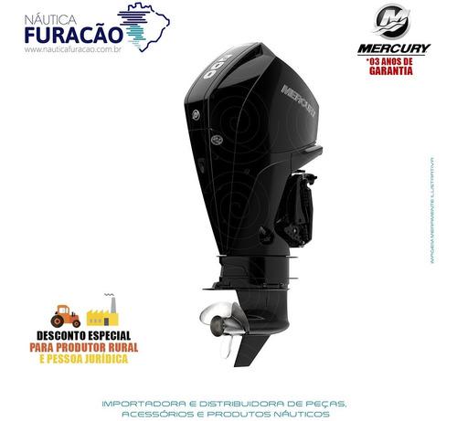 Motor De Popa Mercury 4 Tempos 200hp L Efi V6 Dts Preto