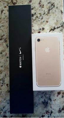 iPhone 7 - 128gb + Apple Watch Série 3
