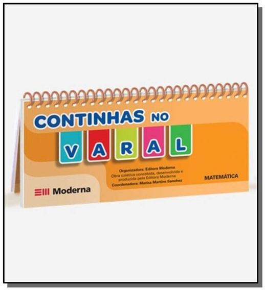 Livro Varal - Continhas No Varal - Matematica