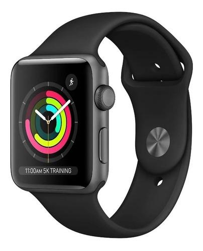 Reloj Smartwatch Apple Serie 3 Silver Mtey2ll/a 38mm