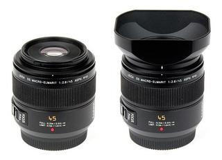 Lente Fotográfico Panasonic Macro Leica 45mm