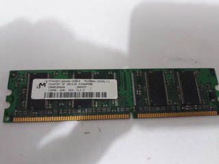 Ram Micron 128mb Pc-2700 Ddr 333mhz Mt4vddt1664ag-335c3