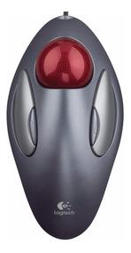 Mouse Óptico Trackball Logitech Trackman Marble Usb / Ps2