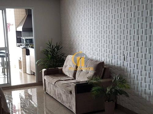 Montemagno Com 3 Dormitórios À Venda, 124 M² Por R$ 1.219.000 - Jardim Anália Franco - São Paulo/sp - Ap0424