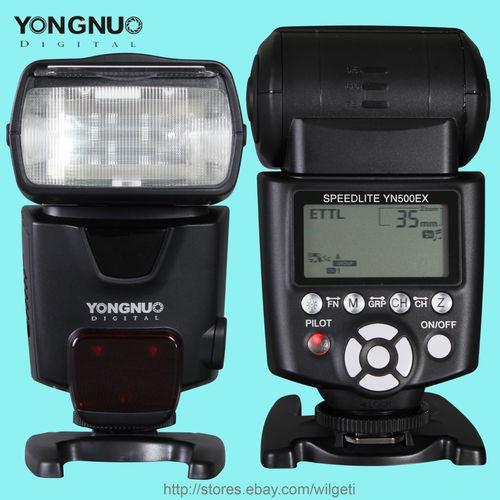 Yongnuo Yn500ex Yn-500ex Ettl High Speed Hss Canon