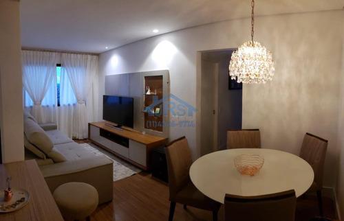 Imagem 1 de 11 de Condomínio Viva Mais Apartamento Com 2 Dormitórios À Venda, 53 M² Por R$ 295.000 - Jardim Belval - Barueri/sp - Ap4015
