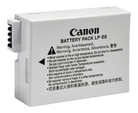 Bateria E Carregador Canon Para T2i T3i T5i E8