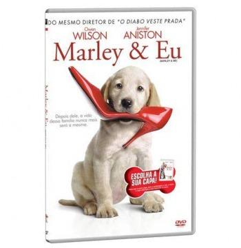 Marley & Eu Dvd Original Novo - 2 Versões Capa - Estojo Slim