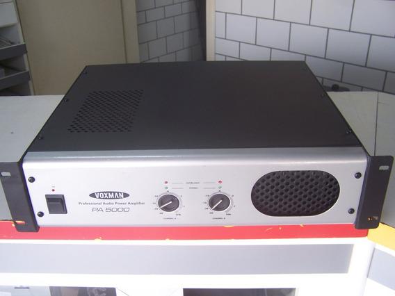Amplificador De Potência Voxman Pa5000 Excelente Estado!!!