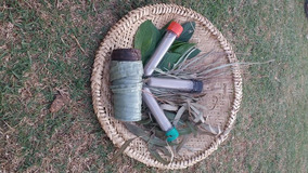 6 Tipos De Rapé Indígena 30 Grama Cada Pote + 1 Kurip
