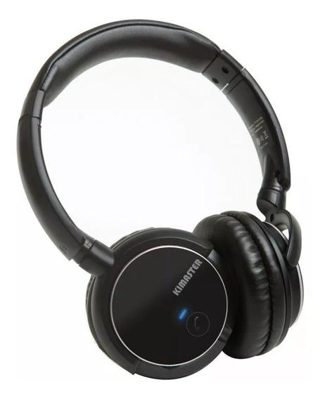 Fone Headphone Bluetooth Kimaster K1 Fm Cartão Sd Monstro