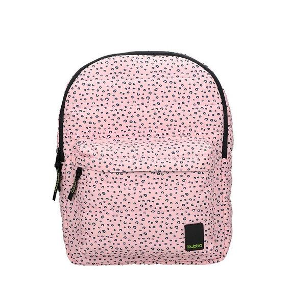 Mochila Bubba Bags Regular Rosy Rosa Animal Print - Selfie