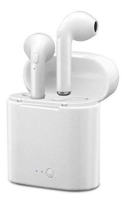 Fone De Ouvido Bluetooth I7s 4.2 Par Tws Sem Fio Case Base
