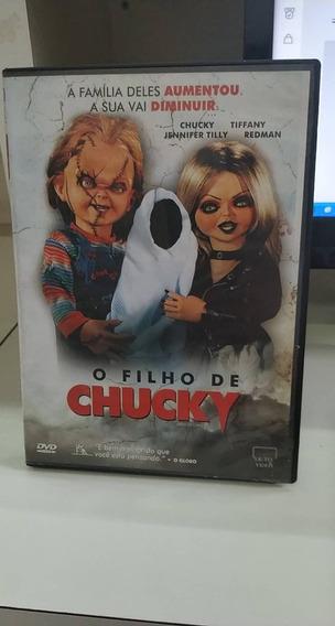 O Filho De Chucky -dvd
