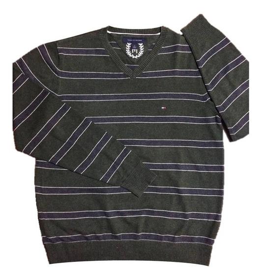 Suéter Lã Tommy Hilfiger Masculino M Novo Importado Original