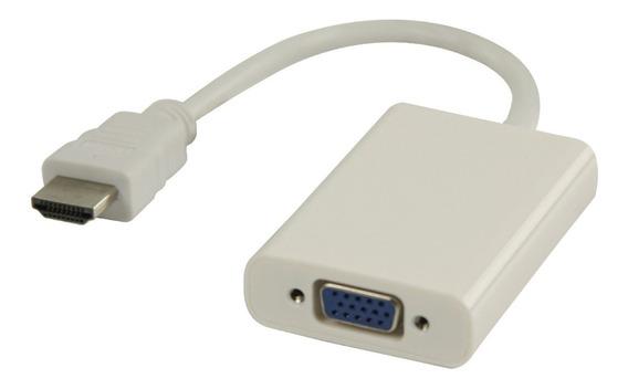 Cable Adaptador Convertidor De Hdmi A Vga Monitor Tv 8694
