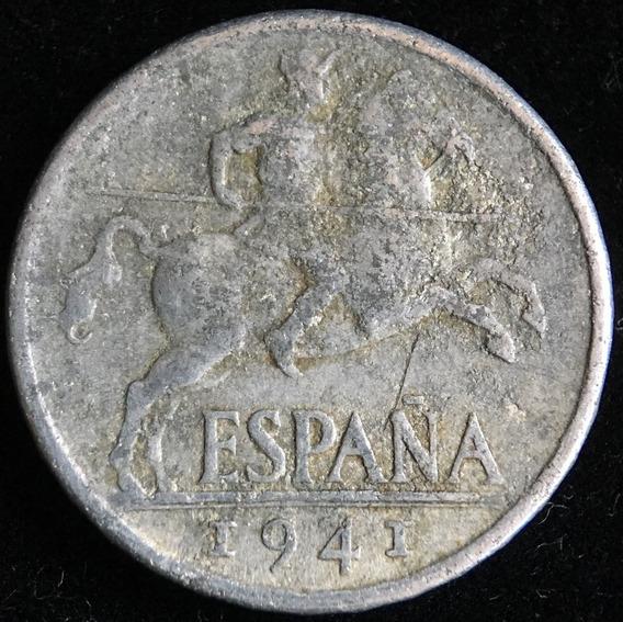 España, Gobierno Nacionalista, 10 Centimos, 1941 Plvs. Vg