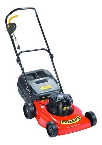 Cortadora de pasto eléctrica Dibra R45SR con bolsa recolectora 1600W naranja y negra 220V