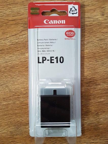 Original Lp-e10 C/ Nf-e P/ Cameras Eos T5 E T6 S/ Ef Memoria