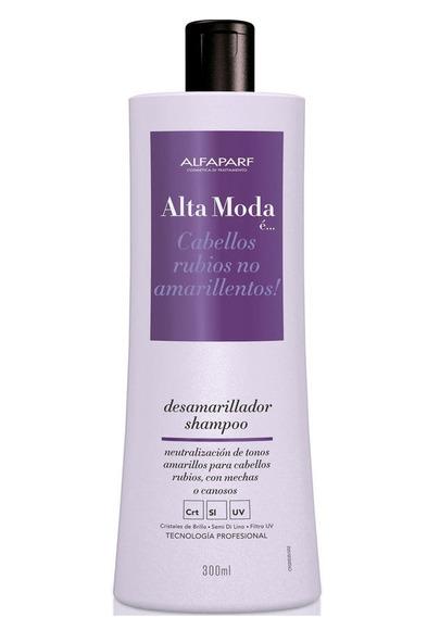 Alfaparf Alta Moda E Shampoo Anti Reflex Desamarillador X300