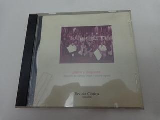 Cd Colección Revista Clásica Piano Y Orquesta