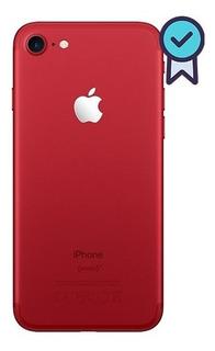 Carcaça iPhone 7 Red Chassi Aro Traseira Laterais + Botões