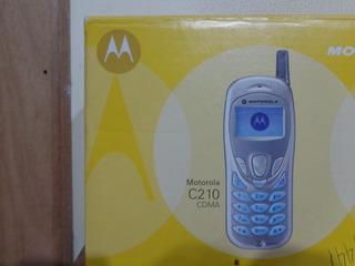 Celular Motorola C210 - Cdma Sem Chip - Na Caixa Raridade