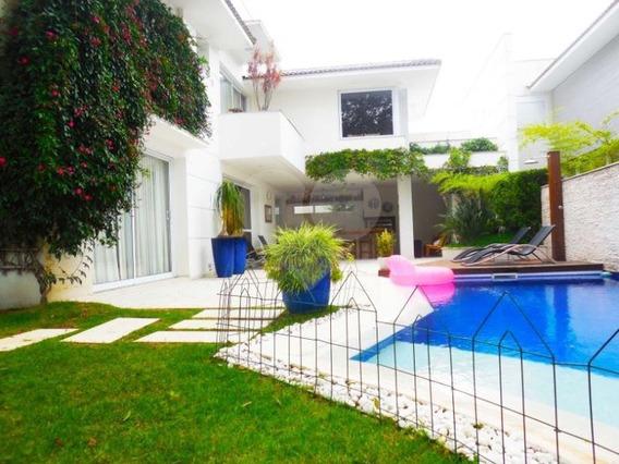 Impecável Mansão De Condomínio 4 Suítes O Alto Da Boa Vista - 375-im115763