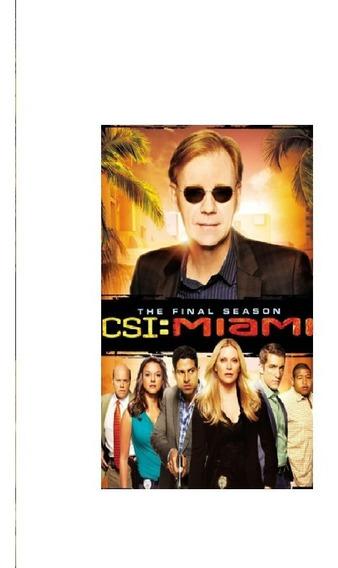 Csi: Miami La Serie Completa 10 Temporadas