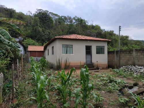 Casa 2 Quartos - Pronta Para Morar - Terreno 600m²