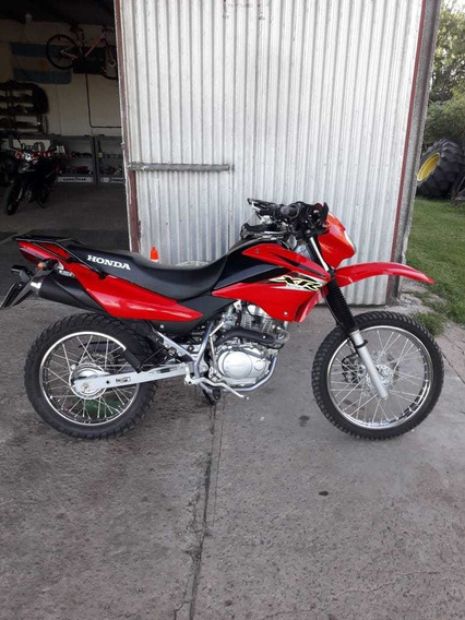 Honda Xr 125l Roja
