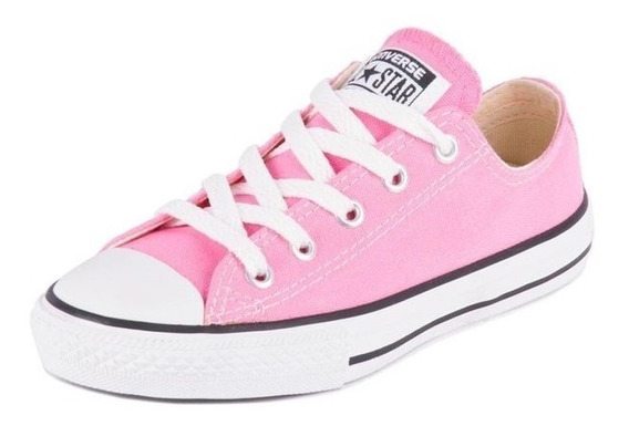 Tenis Converse All Star Ct Core Hi Rosa Claro