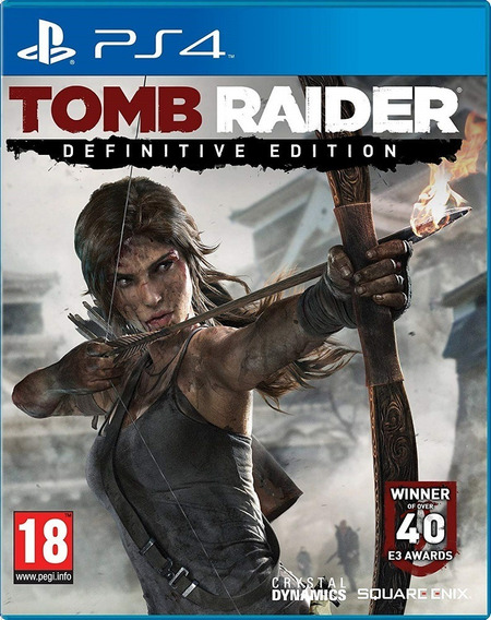 Tomb Raider Definitive Edition - Ps4 - Mídia Física
