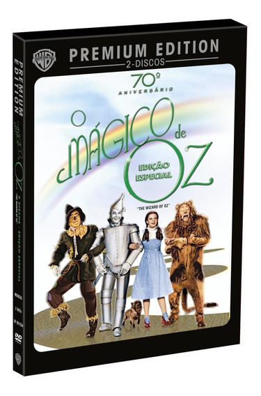Mágico De Oz - Premium Edition - 2 Dvds