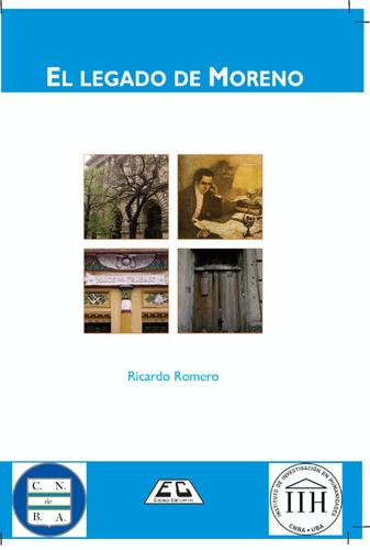 Imagen 1 de 2 de El Legado De Moreno - Novela - Ricardo Romero